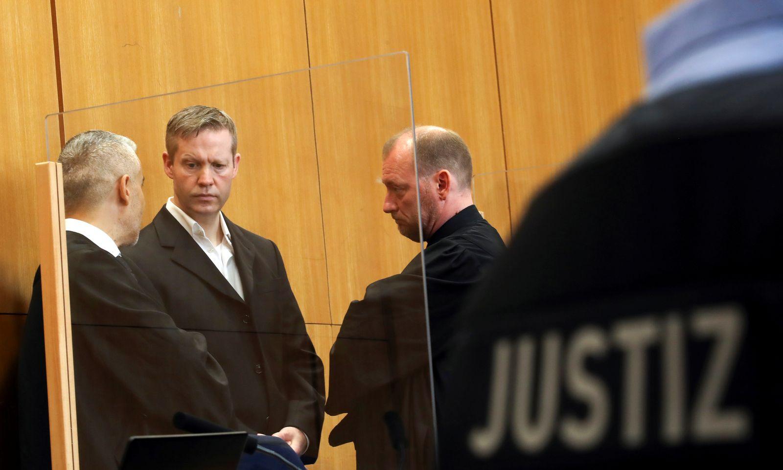 Luebcke murder trial continues In Frankfurt