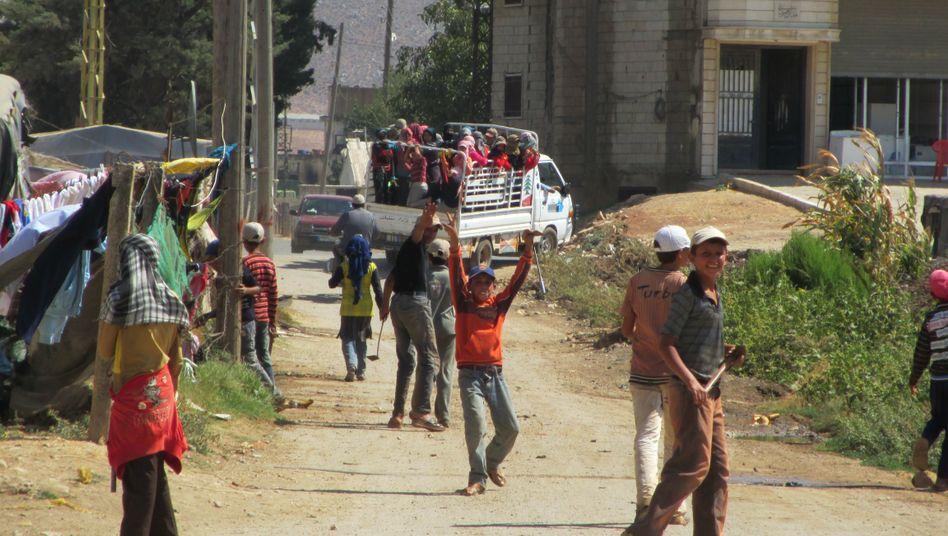 Flüchtlingslager im Libanon: Krieg in Syrien gefährdet auch das Nachbarland