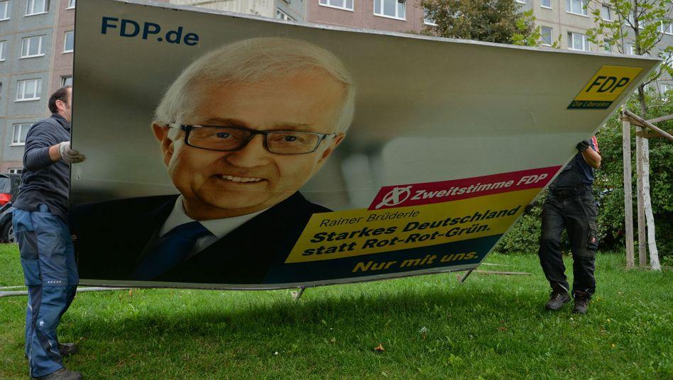 """Wahlplakat der FDP: """"Unsere Wähler sind schlau"""""""