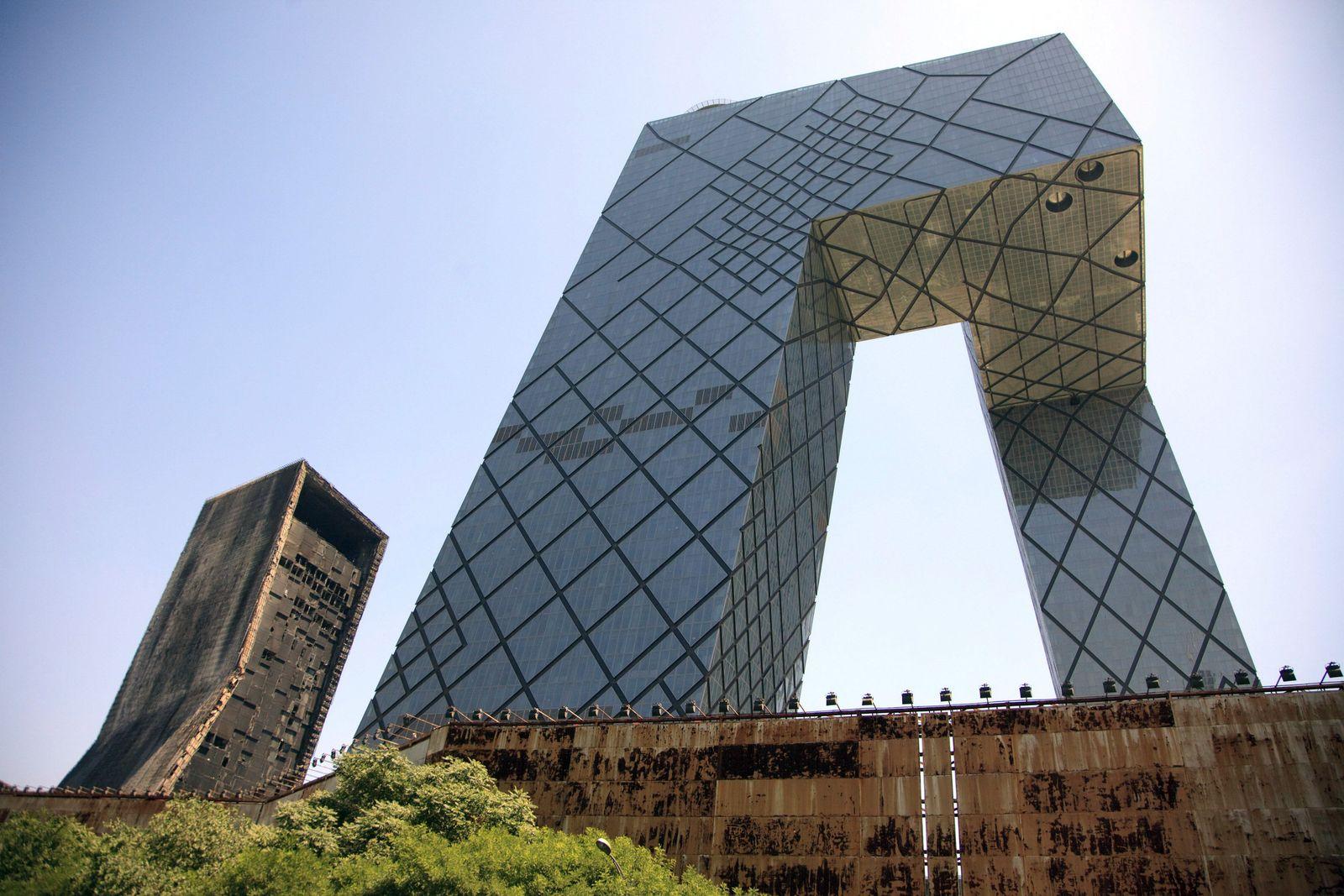 China / Staatssender / CCTV