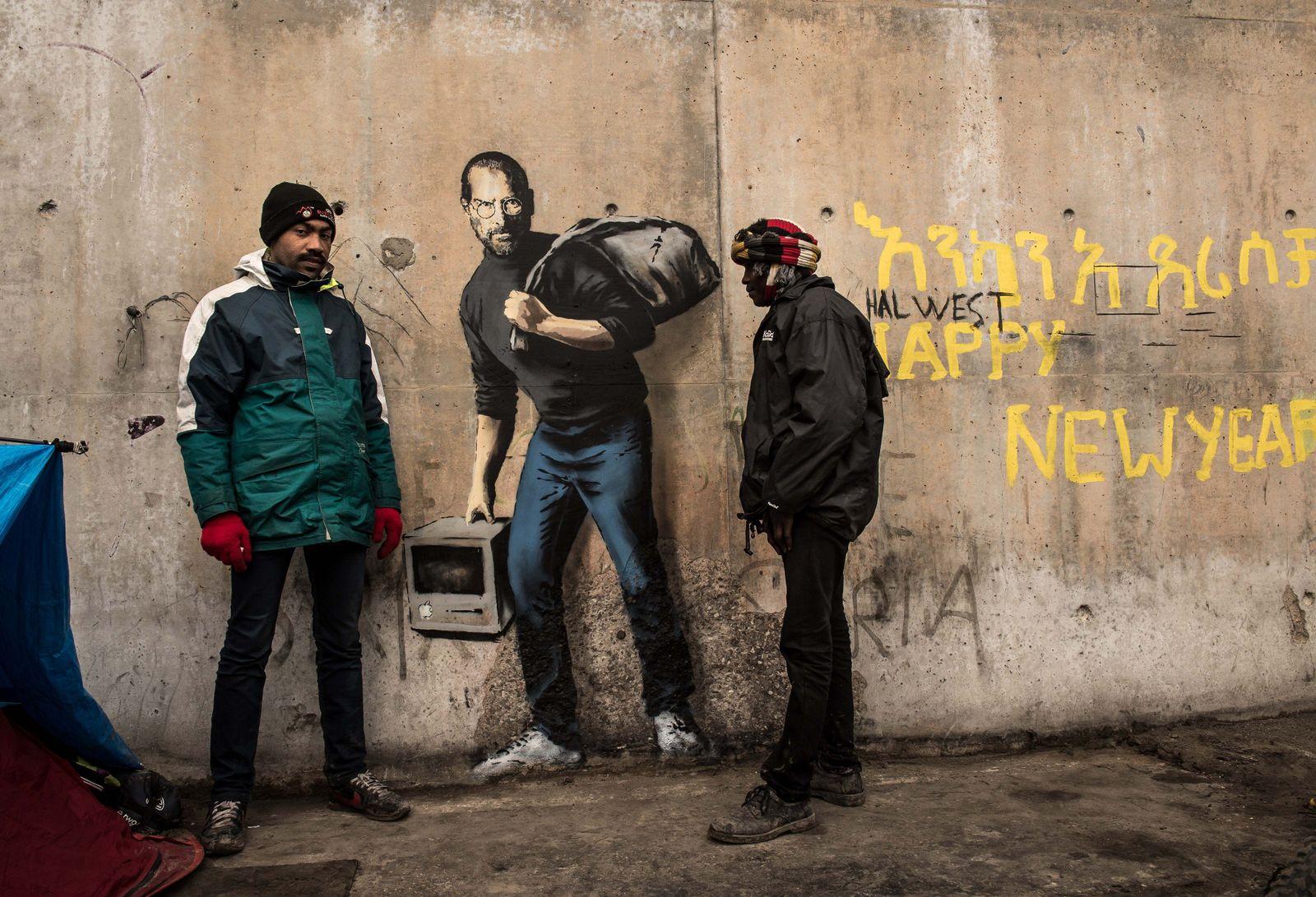 Banksy/ Calais