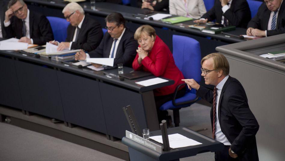 """Linken-Fraktionschef Bartsch: """"Gabriel könnte morgen Kanzler sein"""""""