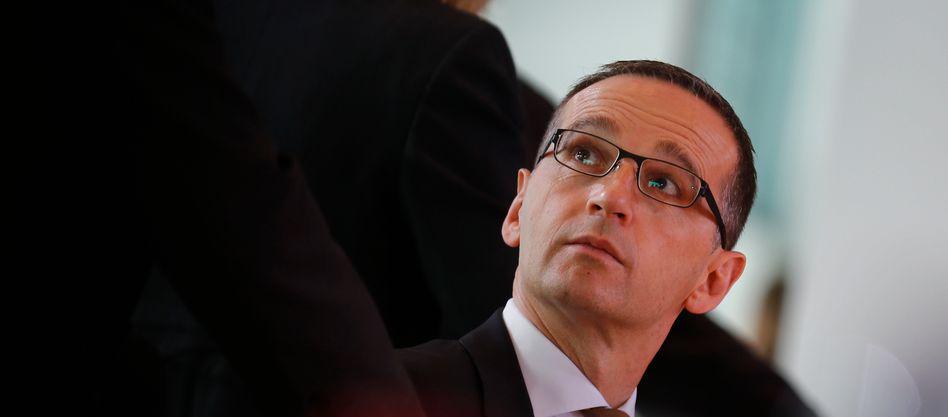 Justizminister Maas: Umstrittenes Projekt