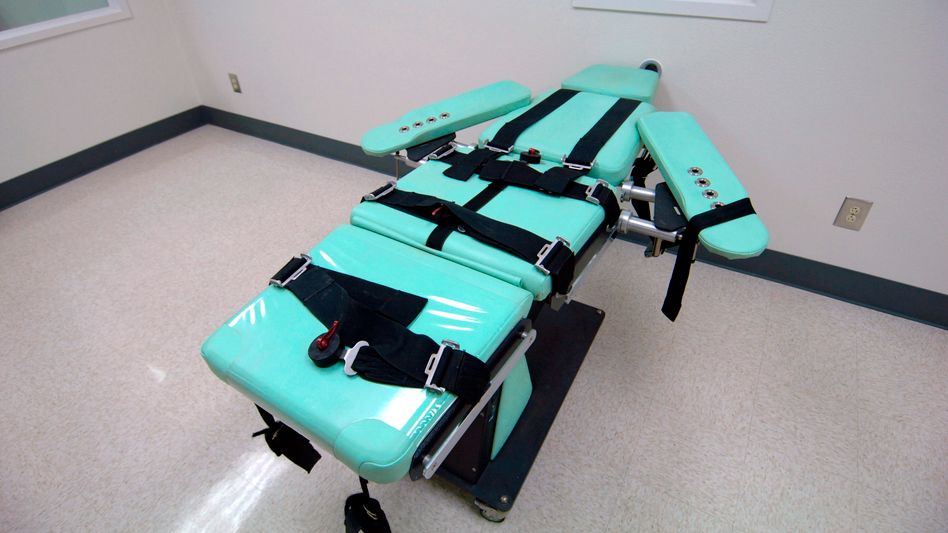 Raum für Hinrichtungen per Giftspritze (Archiv): Erhebliche ethische Bedenken
