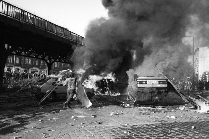 1.-Mai-Straßenschlacht in Kreuzberg