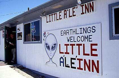 Little A'Le'Inn in Rachel: Die Kaschemme ist das Hauptquartier für Ufo-Gläubige