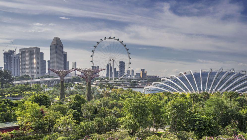 Einmal durch Singapur wandern: Von Nord nach Süd