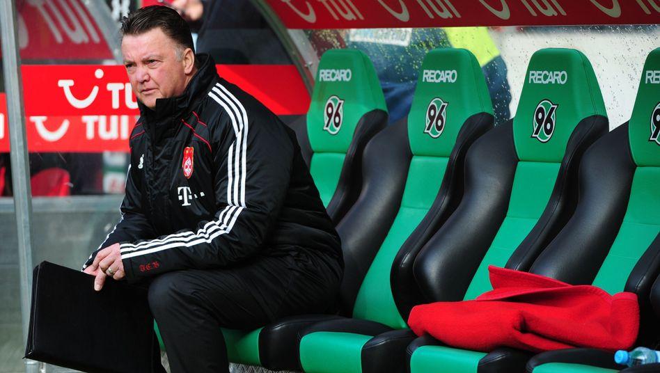 """Bayern-Trainer van Gaal: """"Der Druck auf ihn ist enorm"""""""