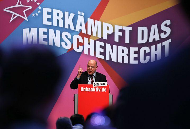 Gysi auf Linkenparteitag 2019