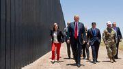 Grenzmauer als Schutz vor Corona