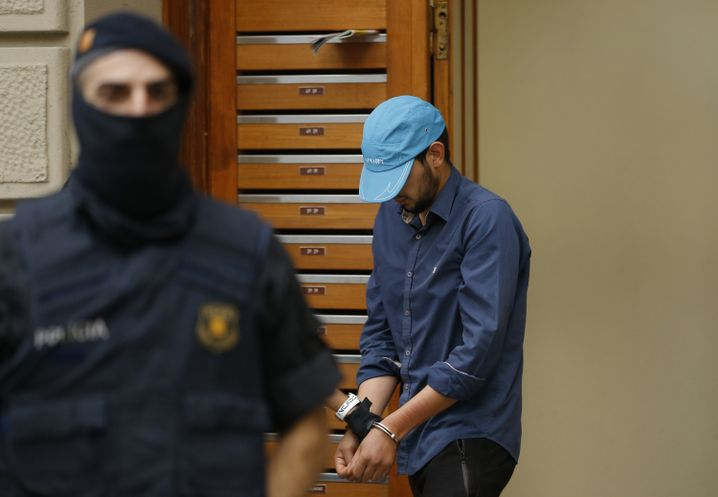 Verdächtiger bei Festnahme in Ripoll