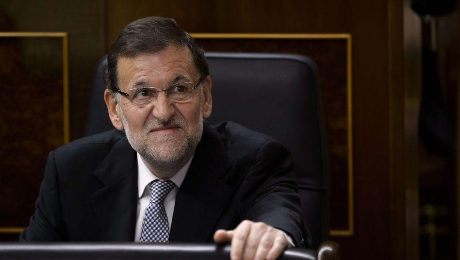 Ministerpräsident Mariano Rajoy: Prozess gegen ehemalige Schatzmeister