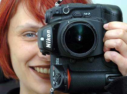 Stein des Anstoßes: Spiegelreflexkamera Nikon D2X