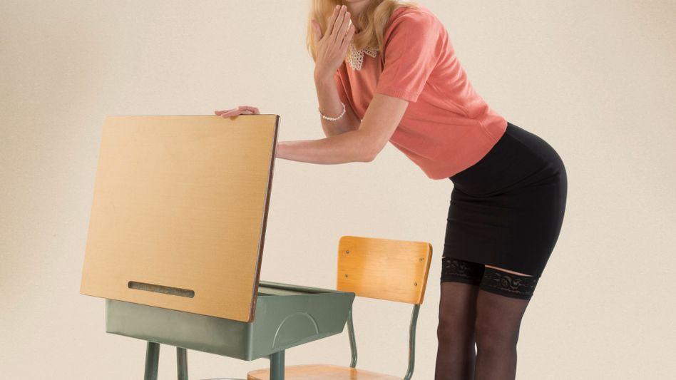 Dürfte diese Dame an der Schweizer Volksschule unterrichten?