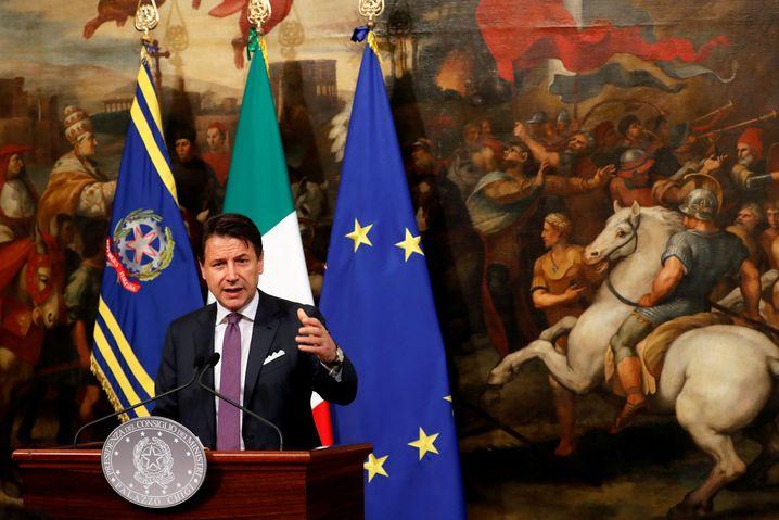 Giuseppe Conte: Verfahren abwenden