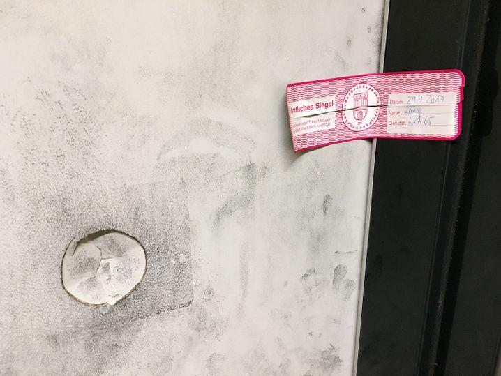 Versiegelte Tür