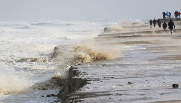 Wangerooge: Das Meer nimmt den Sand mit