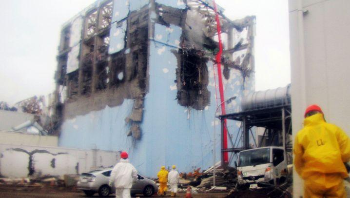 Unglücks-AKW: Arbeiten in Fukushima