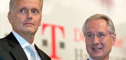 Ex-Telekom-Chef Ricke und Zumwinkel: Im Visier der Ermittler