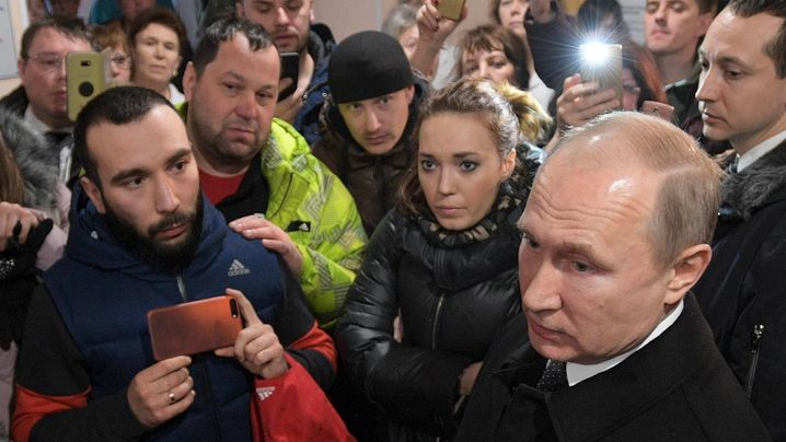 Kemerowo: Russen demonstrieren nach Brandkatastrophe