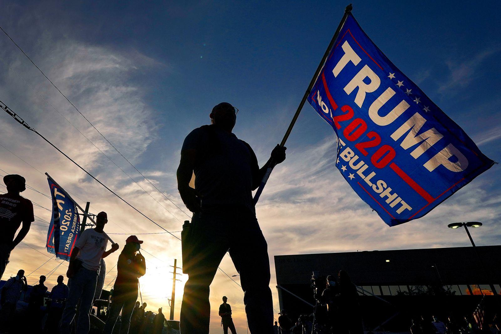 APTOPIX Election 2020 Protests Phoenix