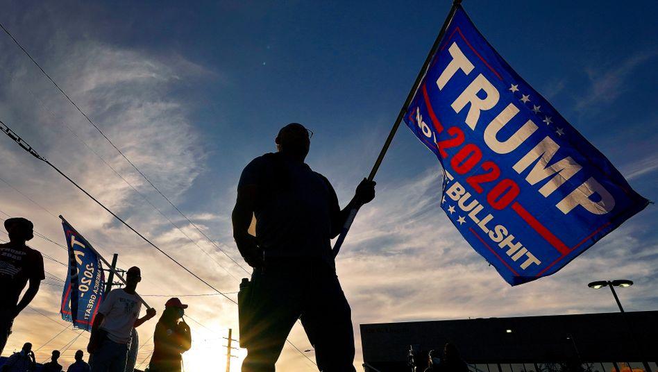 Trump-Anhänger 2020 in Phoenix, Arizona