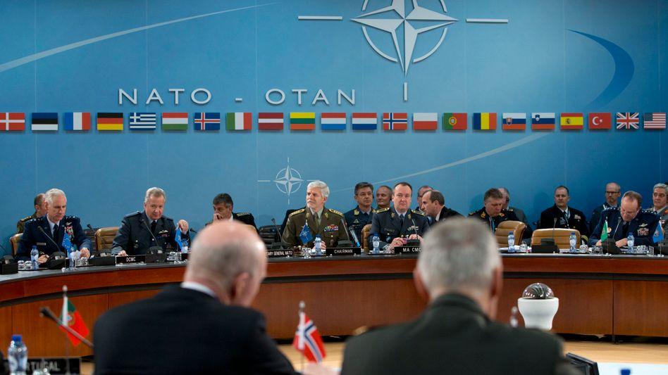 """Nato-Treffen in Brüssel (Symbolbild): """"Nicht hineinziehen lassen"""""""