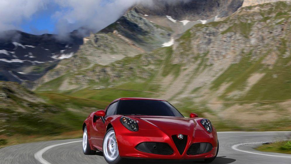 Autogramm Alfa Romeo 4C: Schneller Schönling