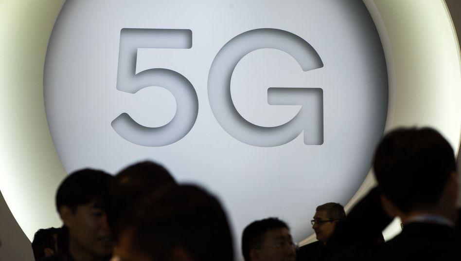 5G-Schriftzug (Symbolbild)