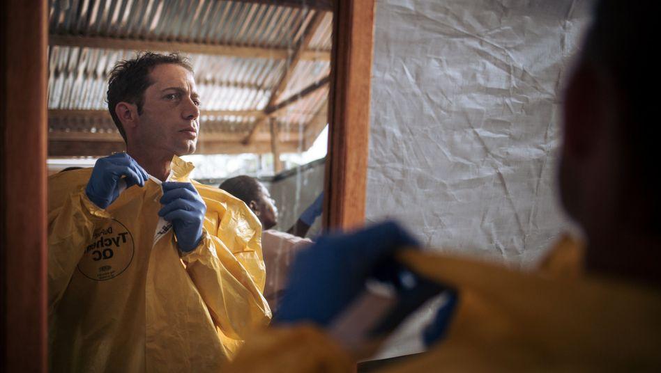 Arzt Christian Kleine im Kongo