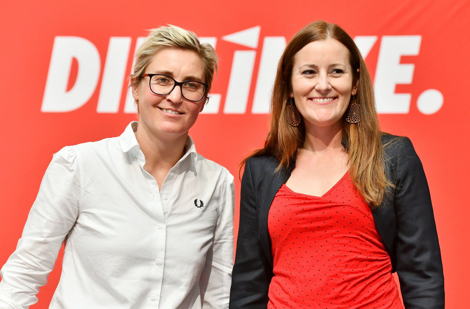 Janine Wissler und Susanne Hennig-Wellsow