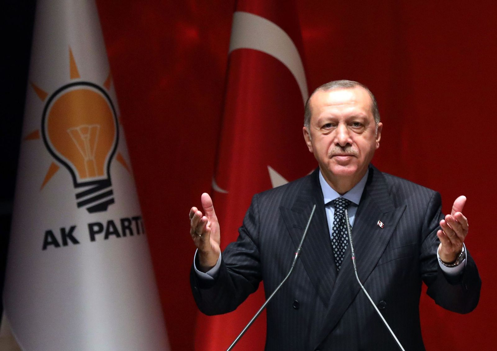 TURKEY-POLITICS Erdogan