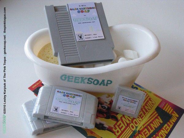 Nintendo-Konsolenseife
