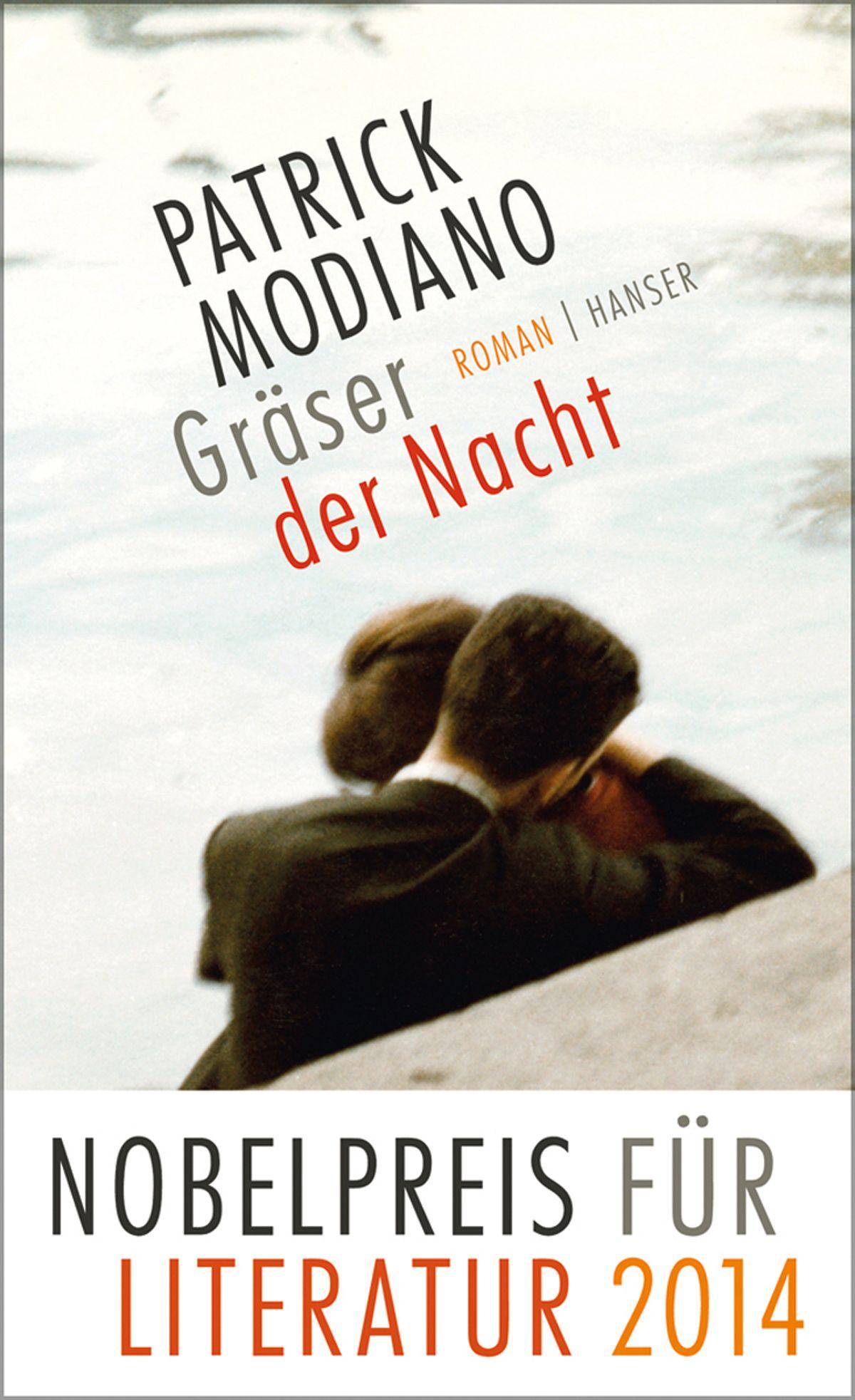 Buch/ Patrick Modiano: Gräser der Nacht COVER