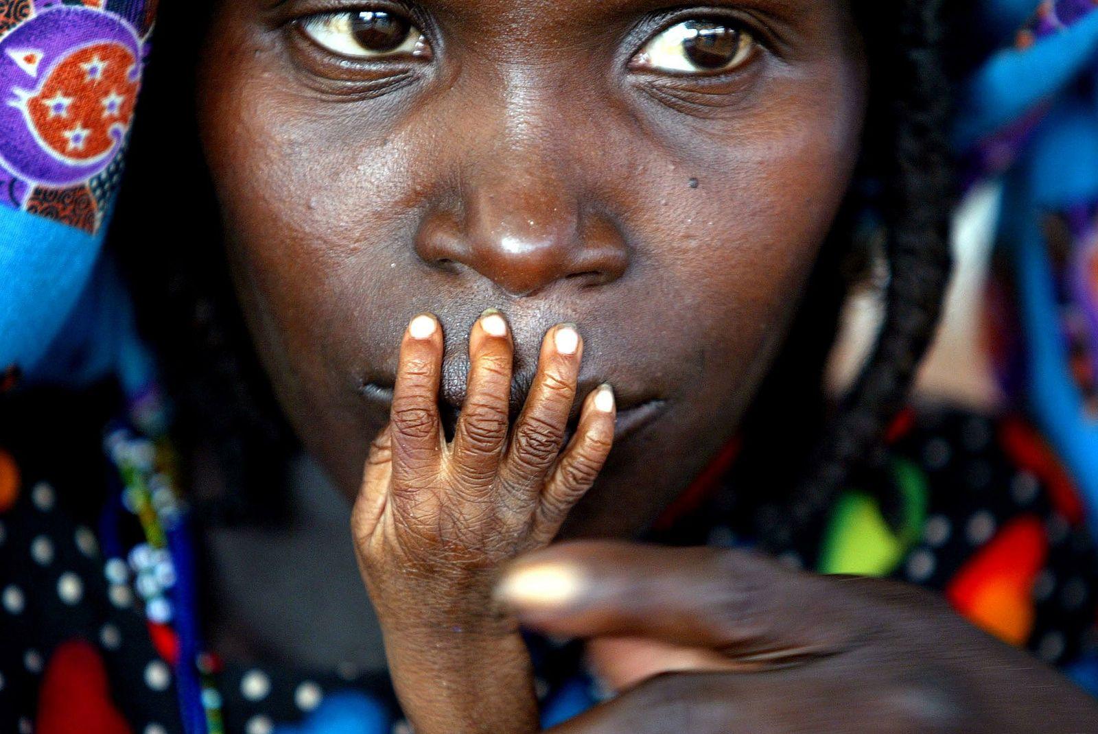 Hunger/ Unterernährung/ Afrika
