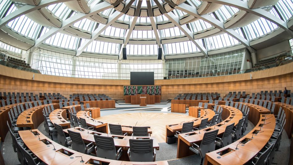 Landtag in Düsseldorf