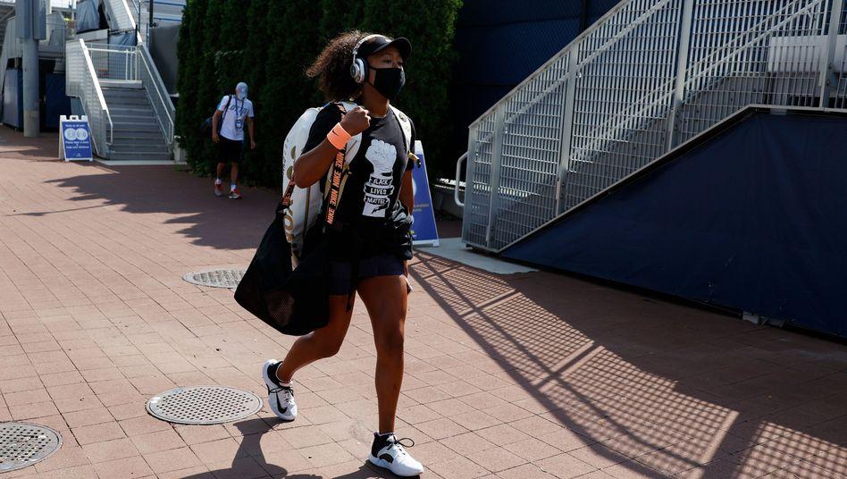 Naomi Osaka tritt nicht zum Finale in New York ein