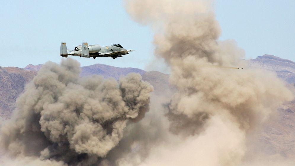 US-Flugzeug A-10 Thunderbolt: Panzerbrecher in der Nase