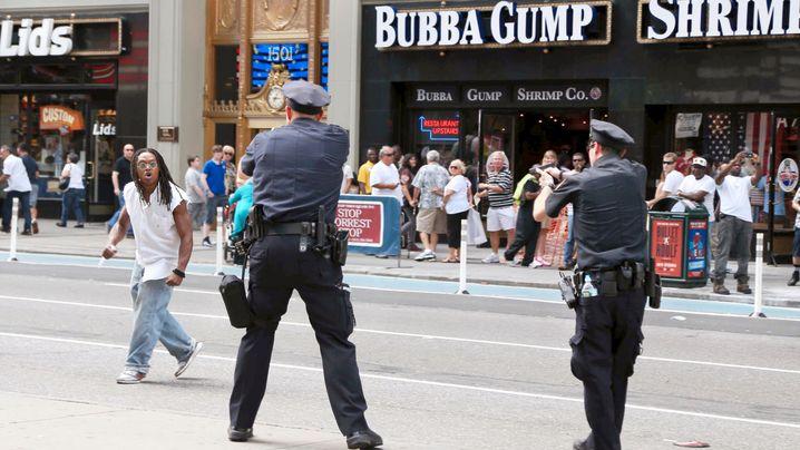 Times Square: Schüsse in New York