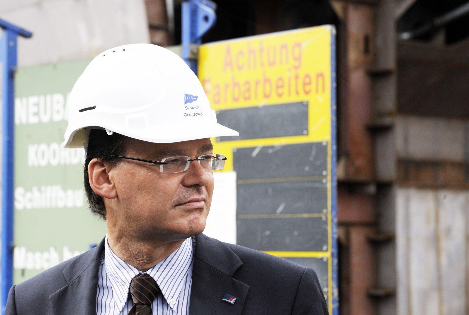 Wirtschaftssenator Axel Gedaschko