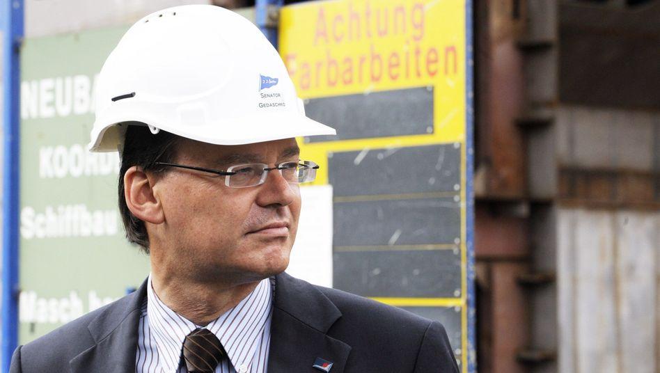 Hamburgs Wirtschaftssenator Gedaschko: Wechsel in die Wohnungswirtschaft?