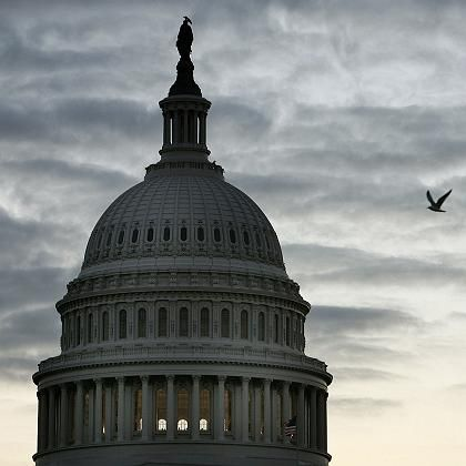 Kapitol in Washington: Die Republikaner verabschieden sich zähneknirschend vom Neokonservatismus - die Demokraten suchen nach einer eigenen Strategie