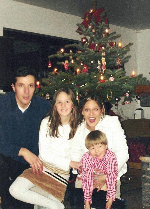 Direkt vor der Thailandreise feierte Tina Degener Eschmann mit Mann und Kindern noch Weihnachten in Hamburg.