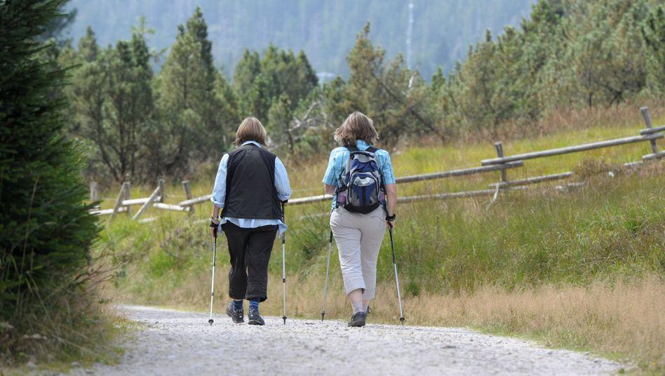 Nordic Walker im Schwarzwald: Effekt moderater Bewegung häufig unterschätzt