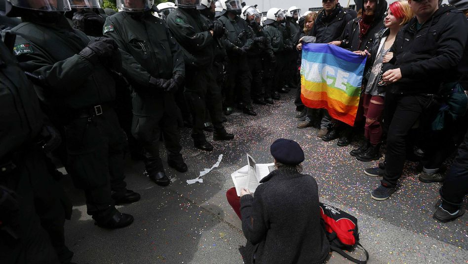 Blockupy in Frankfurt: Krisenprotest in der Krise