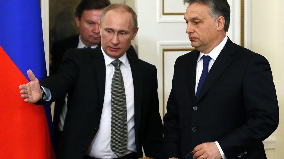 Putin und Orbán: Bilateraler Vertrag über zehn Milliarden Euro unterzeichnet
