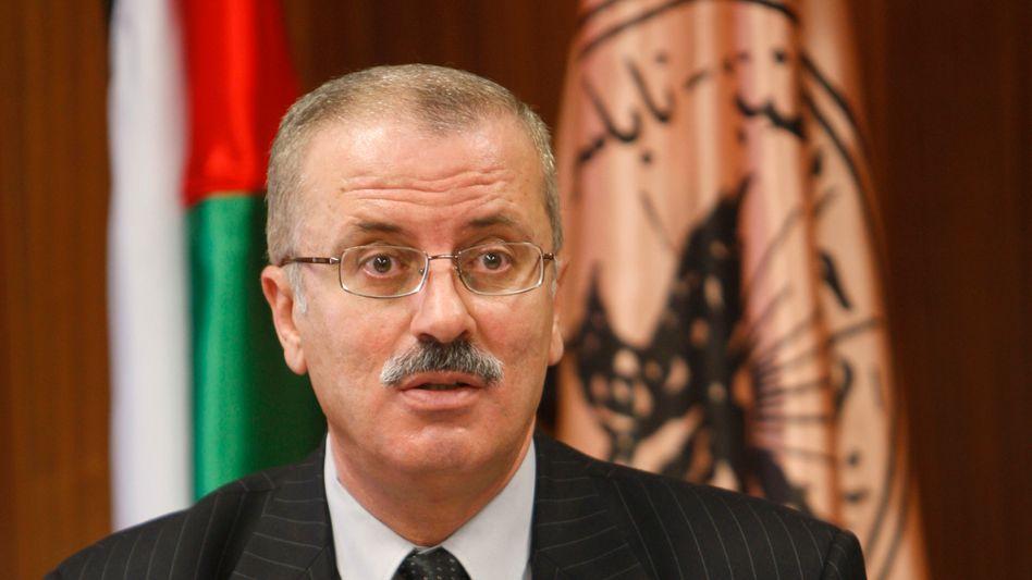 Neuer Regierungschef Hamdallah: Seit 1998 ist er Uni-Präsident