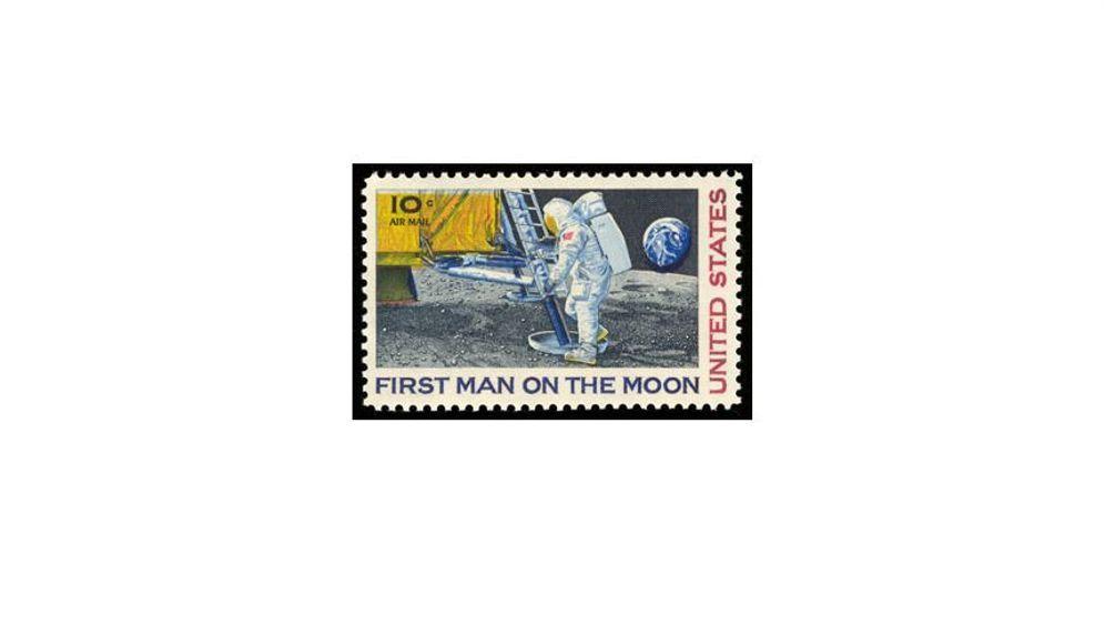 Mondlandung: Spuren im Staub