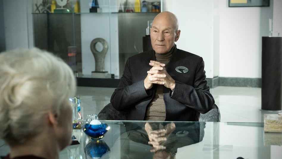 Auch in der neuen Serie spielt Patrick Stewart Picard
