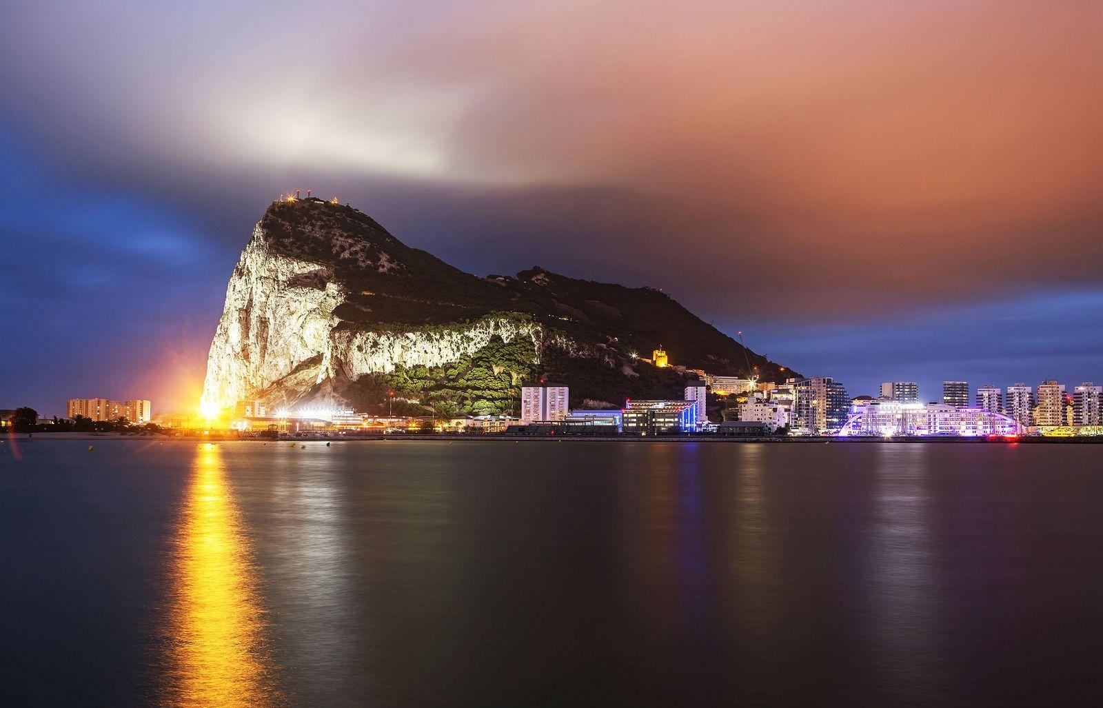 EINMALIGE VERWENDUNG Gibraltar
